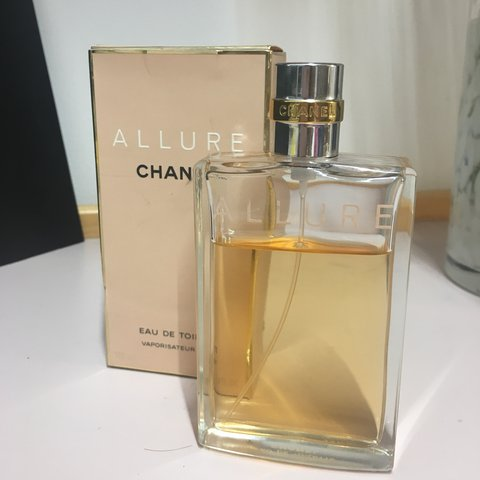 e0651cce7782 @rhodeh. last year. London, United Kingdom. Chanel Allure 100ml perfume!