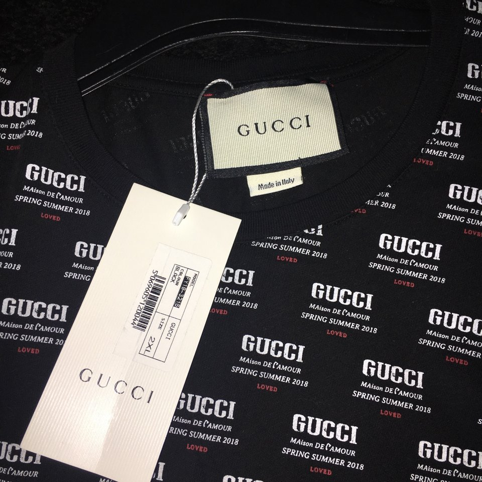 36dc863d8429 Gucci hypnotism t shirt// brand new with labels and... - Depop