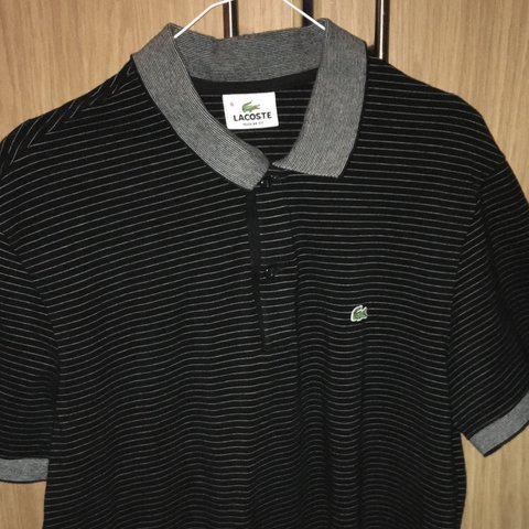 273cb7b10 Peng Lacoste polo t shirt top Size Lacoste 6 so uk M but can - Depop