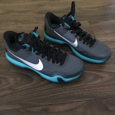 60ed2a1d15 Real genuine Kobe 10 Black and emerald blue Retail price / - Depop