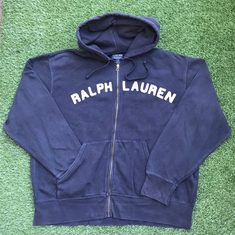 Polo Ralph Lauren Zip Up Hoodie Jumper Sweater Size Extra Depop