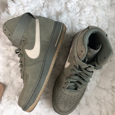 timeless design 2e900 627f4  j gisellewear. 9 months ago. Queen Creek, United States. Olive Green men s  nike Air Force 1 high ...