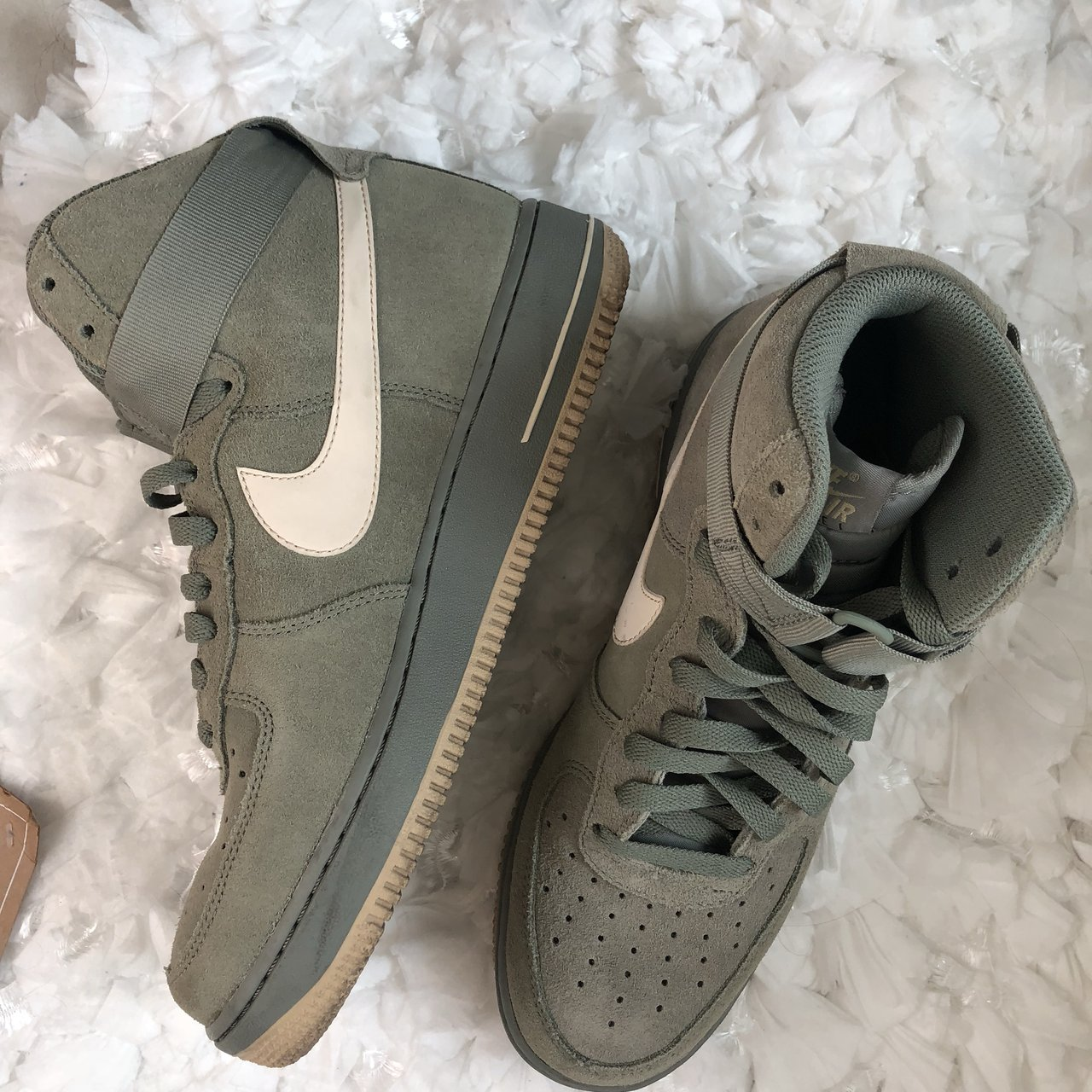 huge discount fb92b c658f  j gisellewear. 9 months ago. Queen Creek, United States. Olive Green men s  nike Air Force 1 high top ...