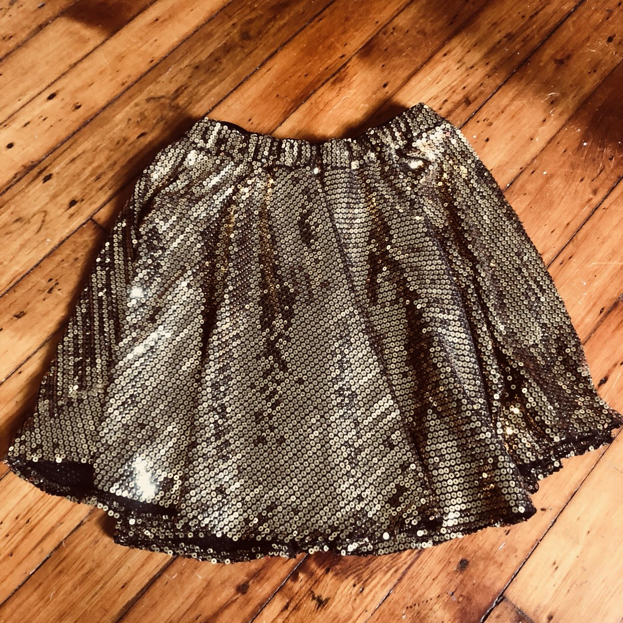 24c8257a15 @beevictoriabrown. last year. Cleveland, United States. Super Cute Nasty  Gal gold sequin mini skirt!