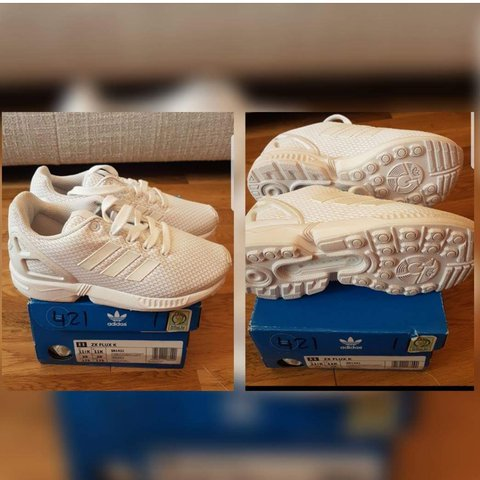 23cbb2a2e0638 Childs Nike flux trainers size 11 brand new. Cost £40 - Depop