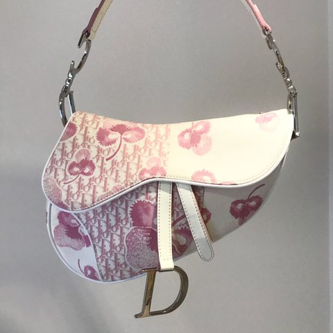 d4d4d3e6d468 Authentic Vintage Christian Dior Saddle Bag from the girly - Depop