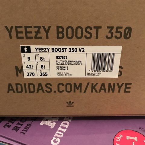2017 Adidas Yeezy Boost 350 V2 Blue Tint UK 9 - US 10 Worn - Depop 929d9d024