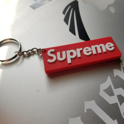 e5743d534835 Supreme Box Logo Keychain BRAND NEW! Supreme Box Logo with - Depop