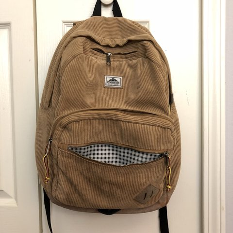 98f7c5b44d Corduroy Steve Madden Backpack- READ DISC -Used as backpack - Depop