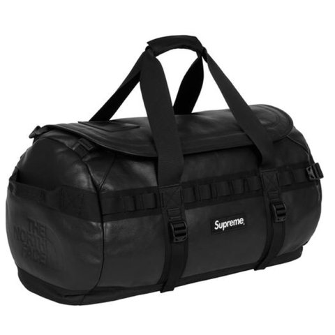 64629d7fd9 Supreme x The North Face Base Camp Duffel Bag Black new