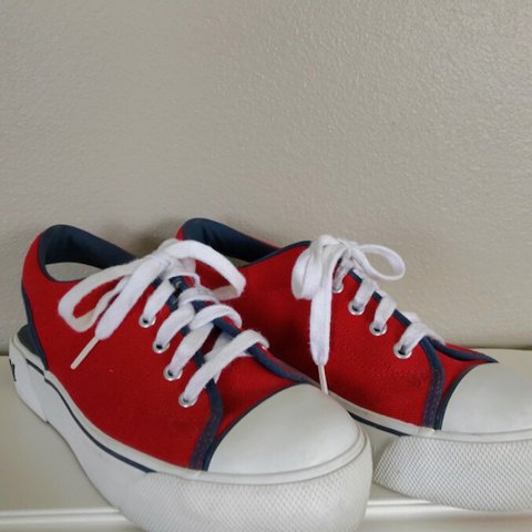 2f1af643b48 Tommy Hilfiger platform shoes with cutouts  TommyHilfiger - Depop