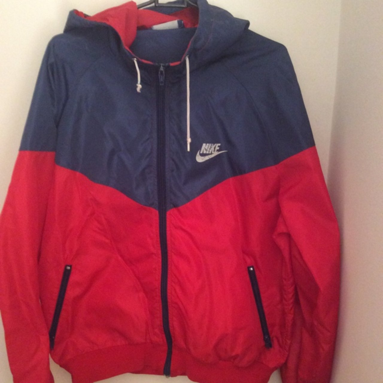Vintage 80 s Nike Windrunner jacket. Old skool classic in In - Depop 0b8000165