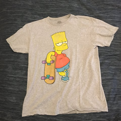 5116687704d4 @raw_ting. last year. United States. Bart Simpson Tee