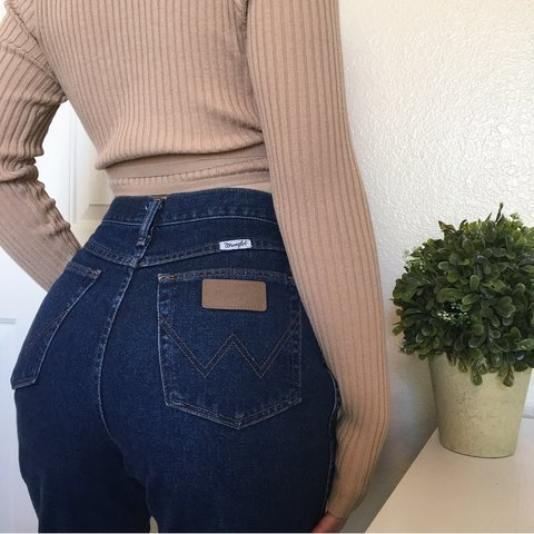 42b15bcf @localparadise. 3 months ago. Henderson, United States. Vintage WRANGLER  high waisted jeans✨ perfect ...