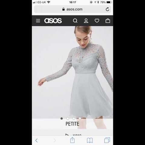 73e73bb9dd229 Little Mistress Petite Lace Top Full Mini Prom Dress   10. - Depop