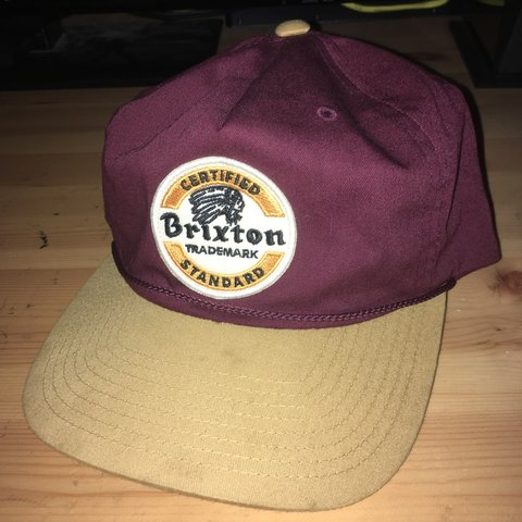 26c9e45d005ce Brixton chief snapback. Perfect condition