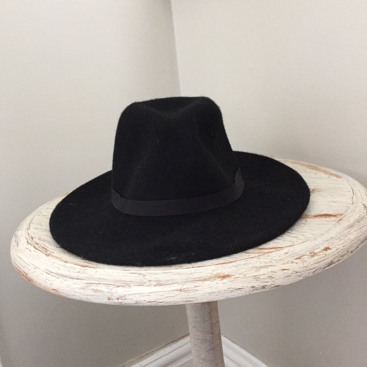 Women s river island wool fedora hat worn one £10 including - Depop 83931df8e81a