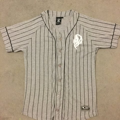 92e70178 Baseball Style Shirt Paid about £35 for it online Never a - Depop
