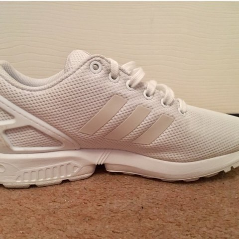 10889000f Adidas ZX FLUX Trainers only worn a couple times. No marks i - Depop