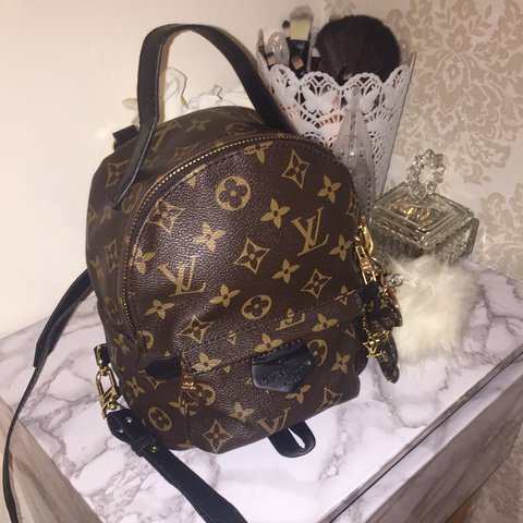 0f0be77b7 @muneebaumar. 2 years ago. Blackburn, United Kingdom. Louis Vuitton (LV) Palm  Springs Backpack Mini