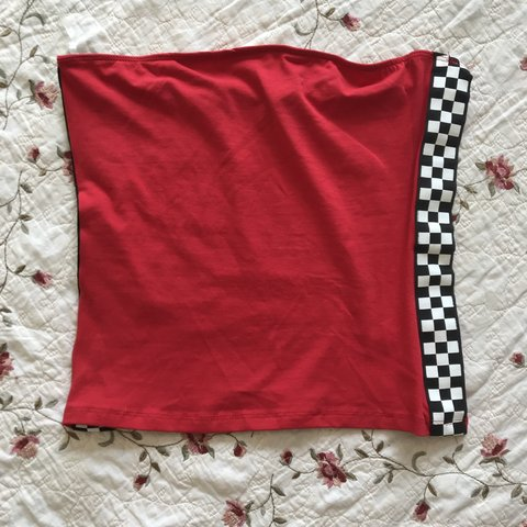 5e8986becf 🍓🍓SZ M RIOT QUEEN BRAND TUBE TOP🍓🍓 🔥PART OF THE BACK TO - Depop