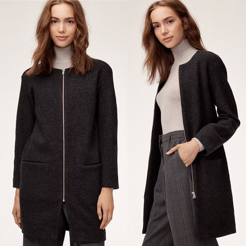 4181ff73f12 NWOT Aritzia Wilfred Banville Wool Coat MSRP  198  Made from - Depop
