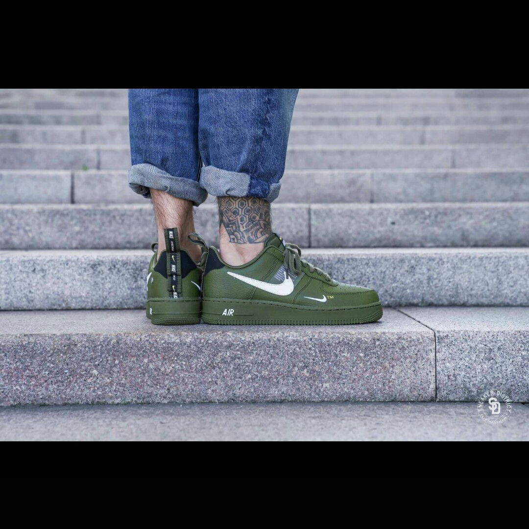 Nike air force 1 '07 LV8 UTILITY OLIVE GREEN All our Depop