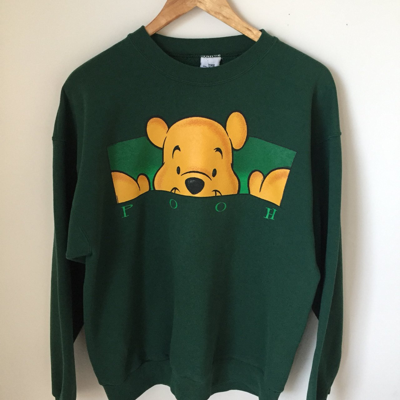 Oversized Winnie the Pooh sweatshirt! He just wants a hug - Depop f10d4dfd2