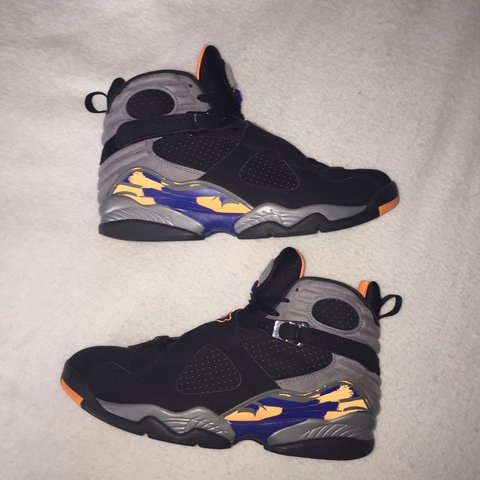 "940aeb34f7f1c6 2013 Air jordan 8 ""Phoenix Suns"" size 12 Great condition - Depop"