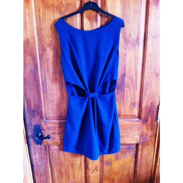 4c479b5786 Green/blue cut out dress. Size S/M and worn once. - Depop