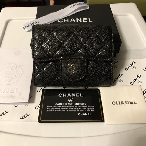 8287abae42a1 @declutterbyg. 19 days ago. New York, United States. Chanel caviar flap  wallet ...