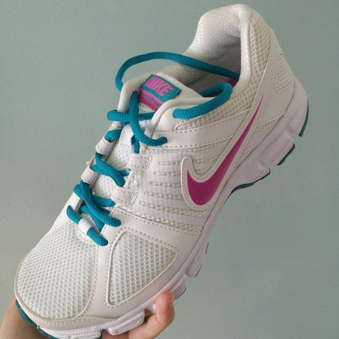 45e887b82e11 Brand new Nike Downshifter 5 trainers. In the colour white - Depop