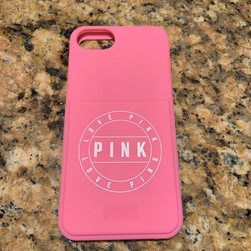 buy online 39e17 f420b Victoria's Secret PINK iPhone 6/6s case! only used a... - Depop