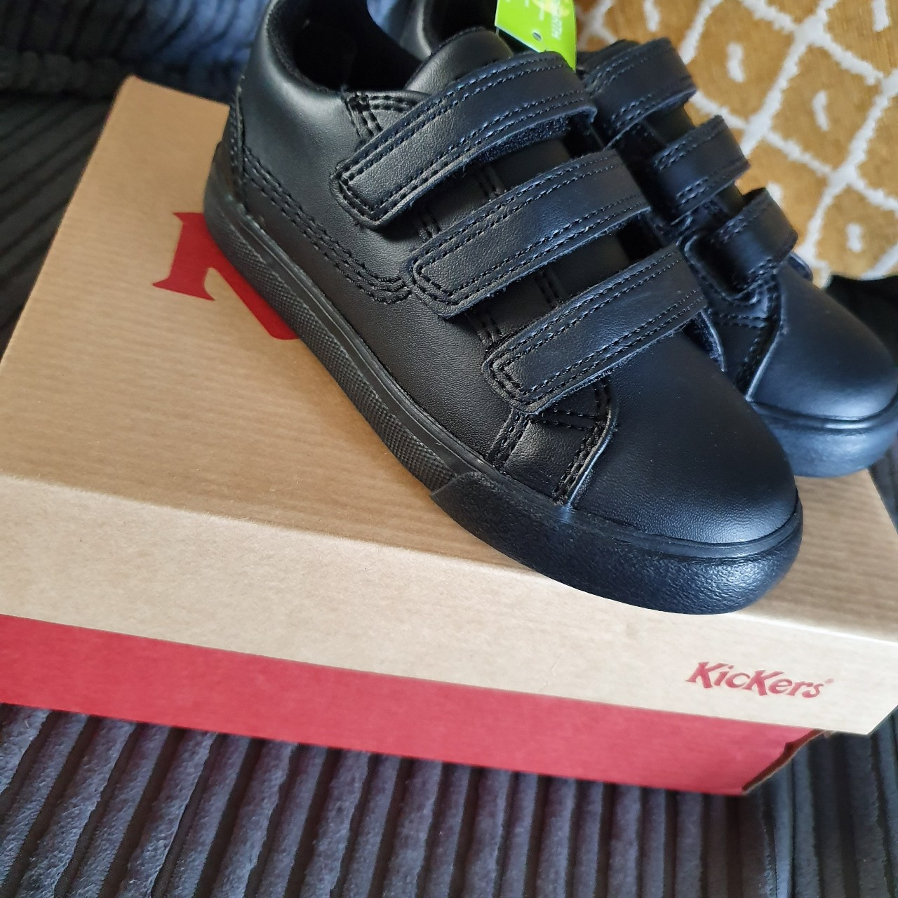 Infant kickers trainers. Size 9 Brand
