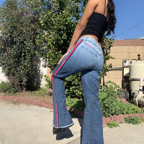 ab87428c13 JNCO JEANS Bell Bottom Jeans. The coolest wide leg jeans   - Depop