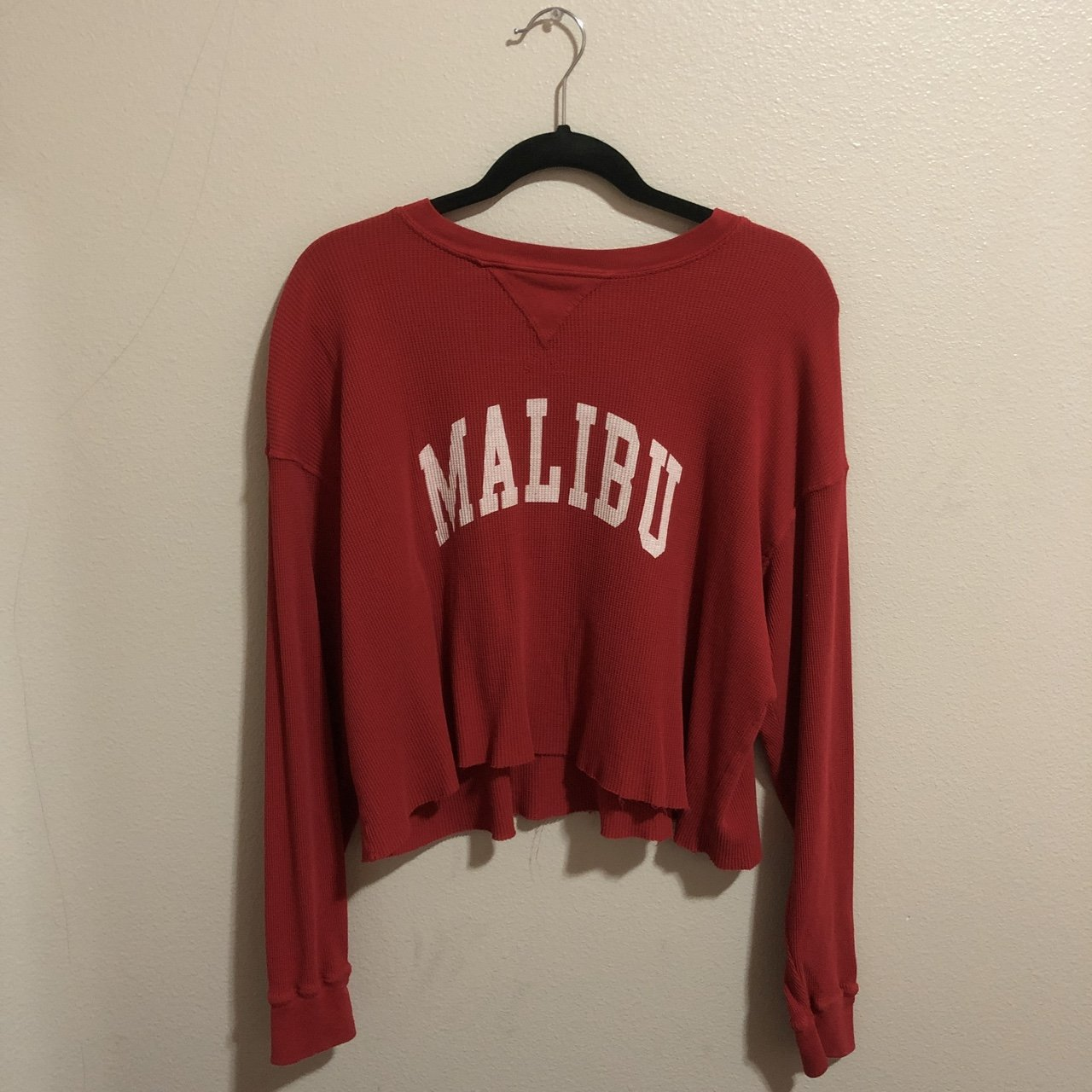 8a5cad271d  jtviray. 7 months ago. United States. Brandy Melville Red Malibu Laila  Thermal Not available on ...
