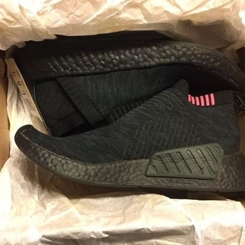 f938ee3ba7ee9 nmd cs2 primeknit Size 7 but can fit an 8 Only worn a couple - Depop