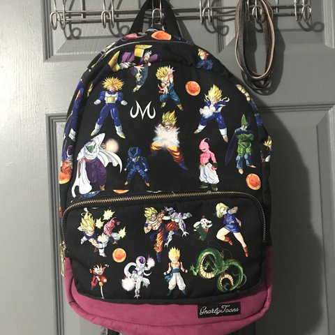 be5fba1c Dragonball z backpack 9/10 condition flaw is is but not so - Depop