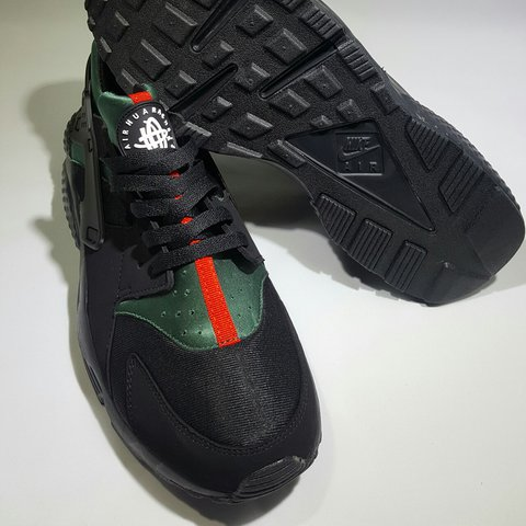 Black Gucci Huarache The Custom Edition Air