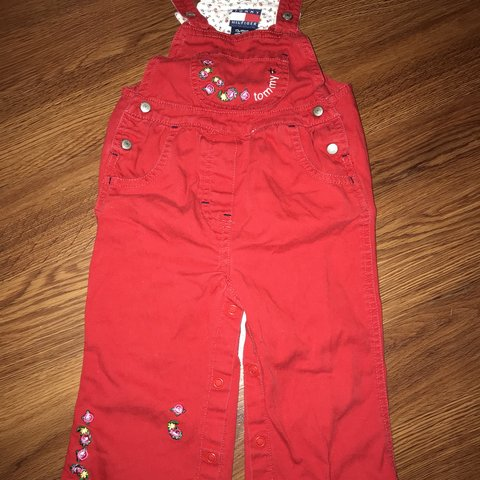 16ef334d @christinkiie. last year. Richmond, United States. Vintage Tommy Hilfiger  overalls for little girl really cute in excellent condition size 12-18  months ...