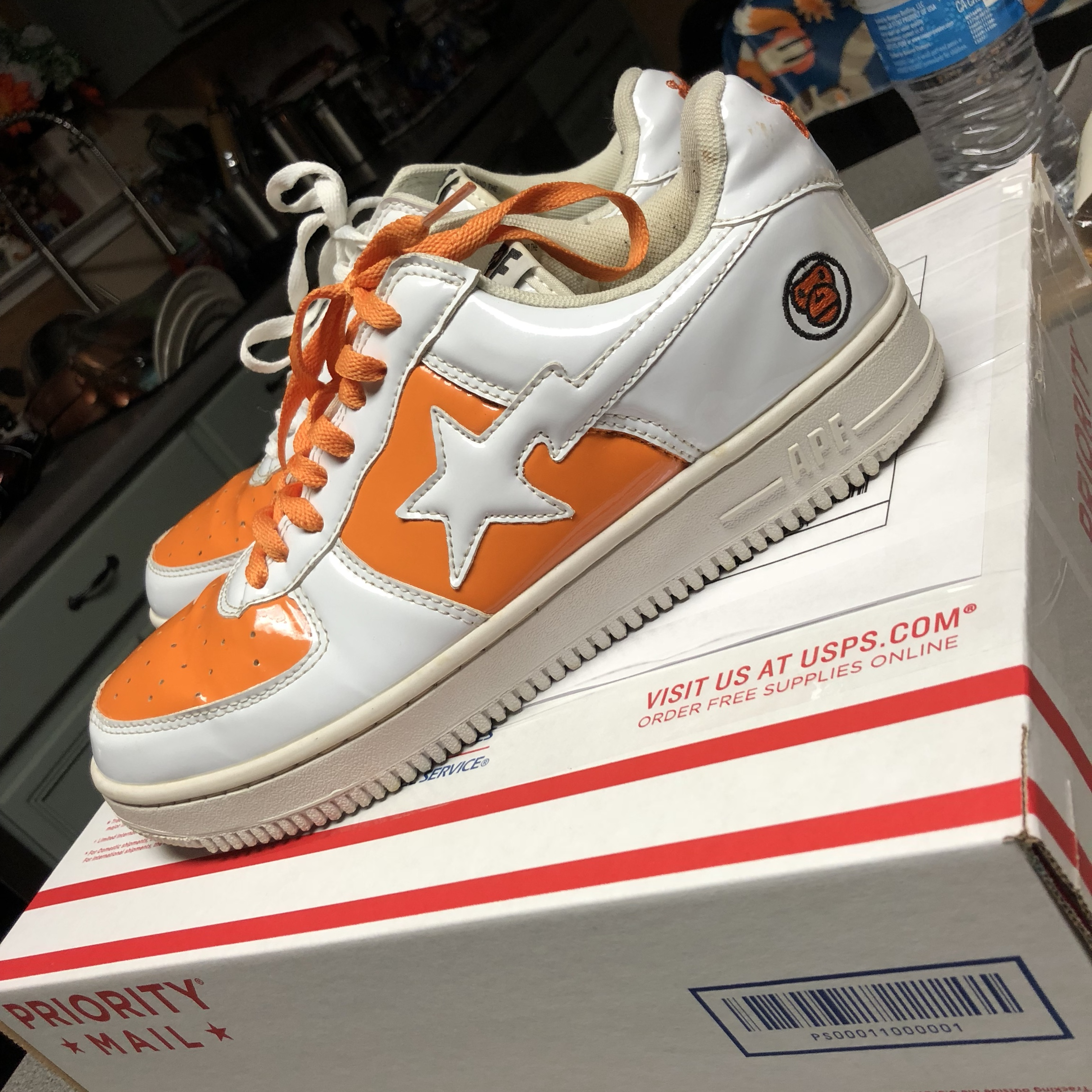 """Bapesta """"baby milo"""" shoes! They're used"""