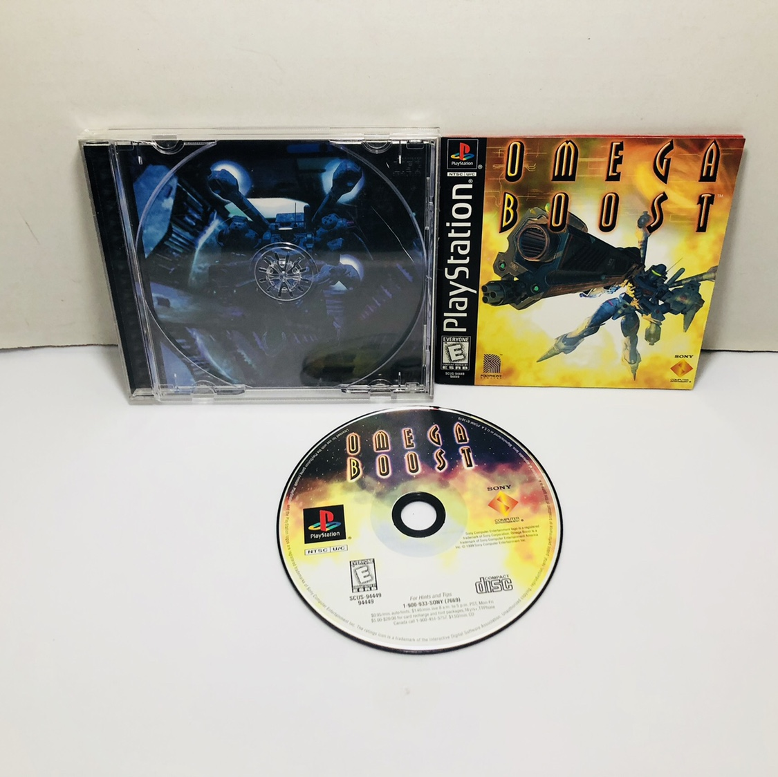 Omega boost PlayStation 1 Ps1 Tested and working    - Depop