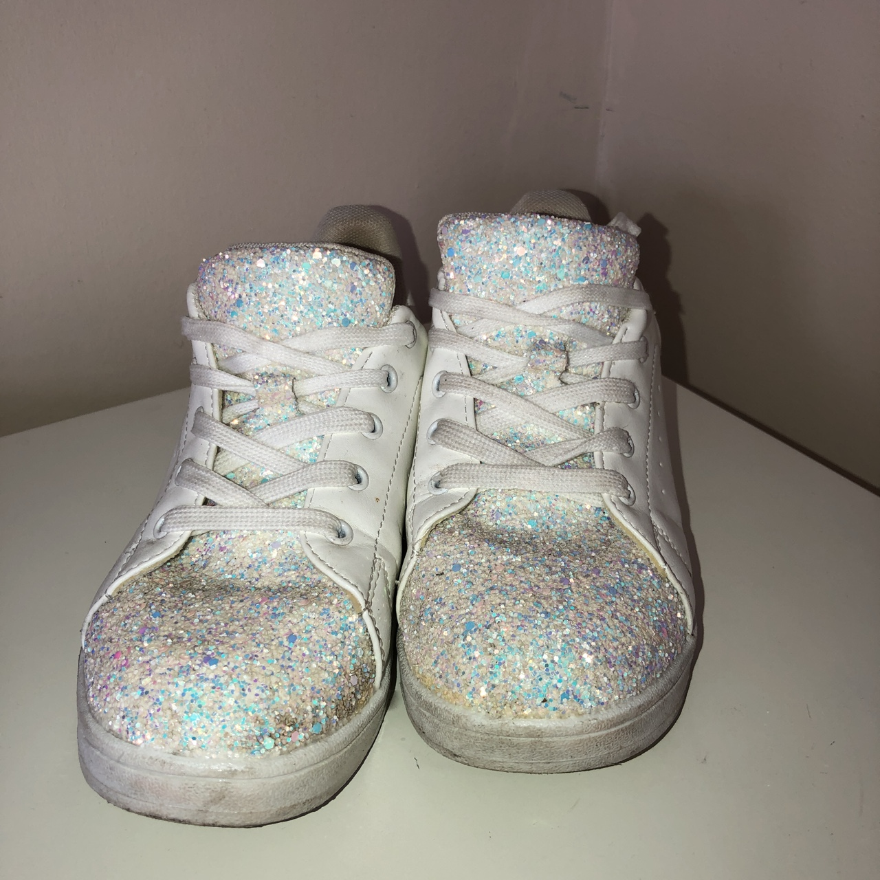 schuh sparkly trainers