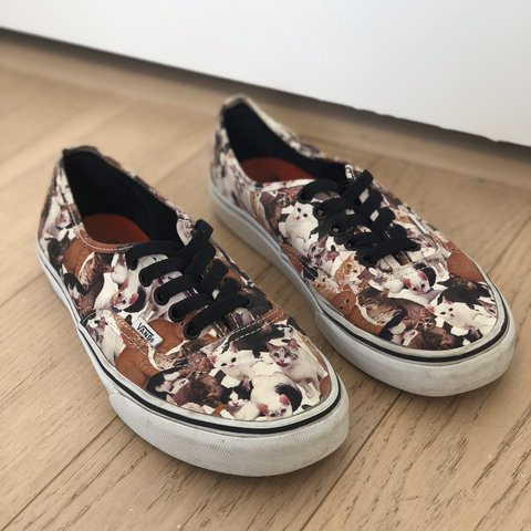 15d3a9b96c54c1 Authentic cat vans LIMITED edition aspca! Barely worn