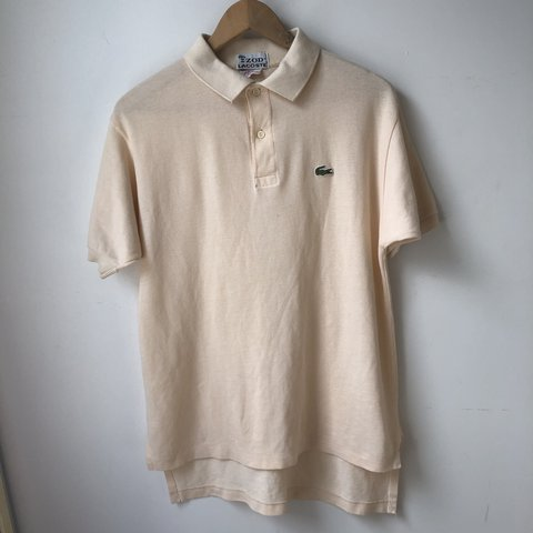 8d1ce66ee 🐊IZOD Lacoste polo shirt🐊 Color is sand chine (creamy - Depop