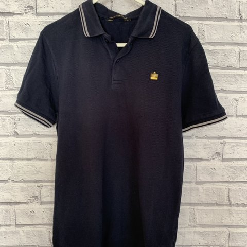 90974ecf3 Great Vintage Admiral polo shirt size small. Feel free to - Depop