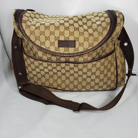 492609bbedfc3f @closet956. 28 days ago. Texas, US. Authentic Gucci diaper bag in good  condition ...