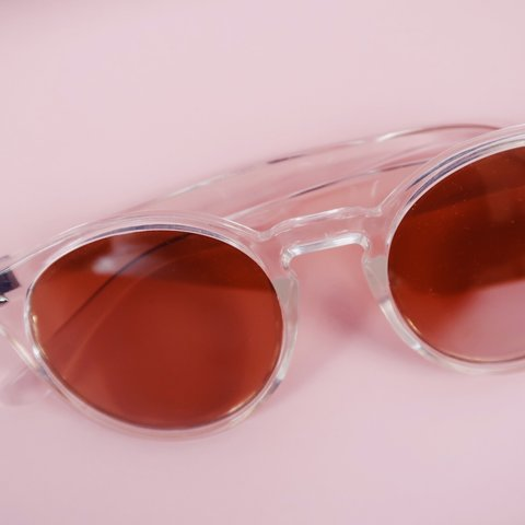 569850eed5 Urban Outfitters pink shade sunglasses Urban Outfitters     - Depop