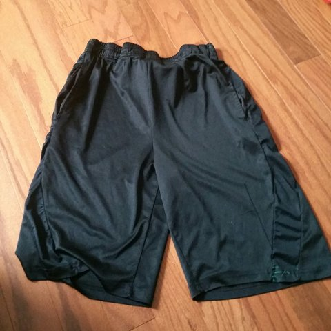 6773fe4d79b Men s basketball shorts size L. Quality is 7 10. With  goat - Depop