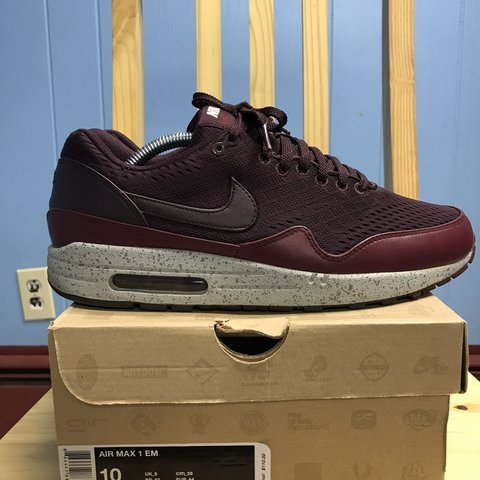 "save off e7b62 24479  willmakeit1018. 2 months ago. New York, United States. Nike Air Max 1 EM ""  ..."